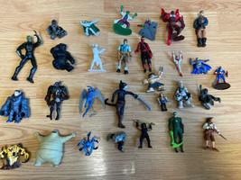 assorted action figure lot Of 28. Marvel Batman GI Joe Etc - $16.83