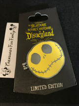Disney LE Pin DLR Nightmare Before Christmas Disneyland Event Logo Jack HINGED - $30.99