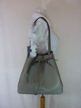 NWT FURLA Sabbia Pebbled Leather LARGE Costanza Bucket Drawstring Tote Bag $448 - $384.12