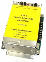 FORNEY IDD-II FLAME DETECTOR AMPLIFIER D-38252-01 D3825201