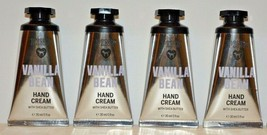 4 Victoria's Secret PINK Vanilla Bean Hand & Body Cream w/ Shea 1 fl oz - $23.74