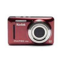 Kodak Pixpro FZ53 16MP 5x Optical Zoom Digital Camera Red FZ53-RD - $98.12
