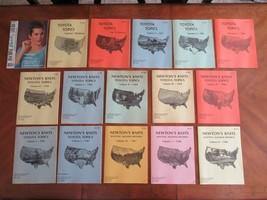 Lot 15x Vintage Newton's Knits Toyota Topics Knitting Machine Newsletter... - $39.99
