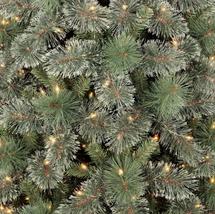 7.5ft Pre-lit Artificial Christmas Tree Slim Virginia Pine with Clear Lights NIB image 2