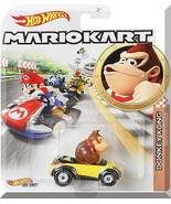Hot Wheels - Donkey Kong Sports Coupe: MarioKart (2020) *Yellow Edition* - $12.00