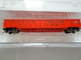 Trainworx Stock # 25201-23 to -24  Rio Grande Orange Paint Scheme 52' Gondola (N image 1