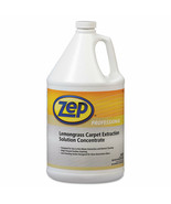 Zep Professional Carpet Extraction Cleaner, Lemongrass, 1gal Bottle (Qty 4) - $99.00