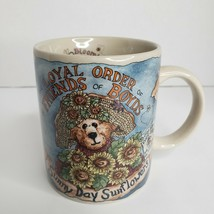 Friends of Boyds Bears Sunny Day Sunflower Bearware Pottery Works Coffee... - $18.48