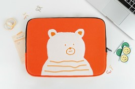 AllNewFrame Indifferent Bear iPad Laptop Protective Sleeve Pouch Bag Cover Case  image 2