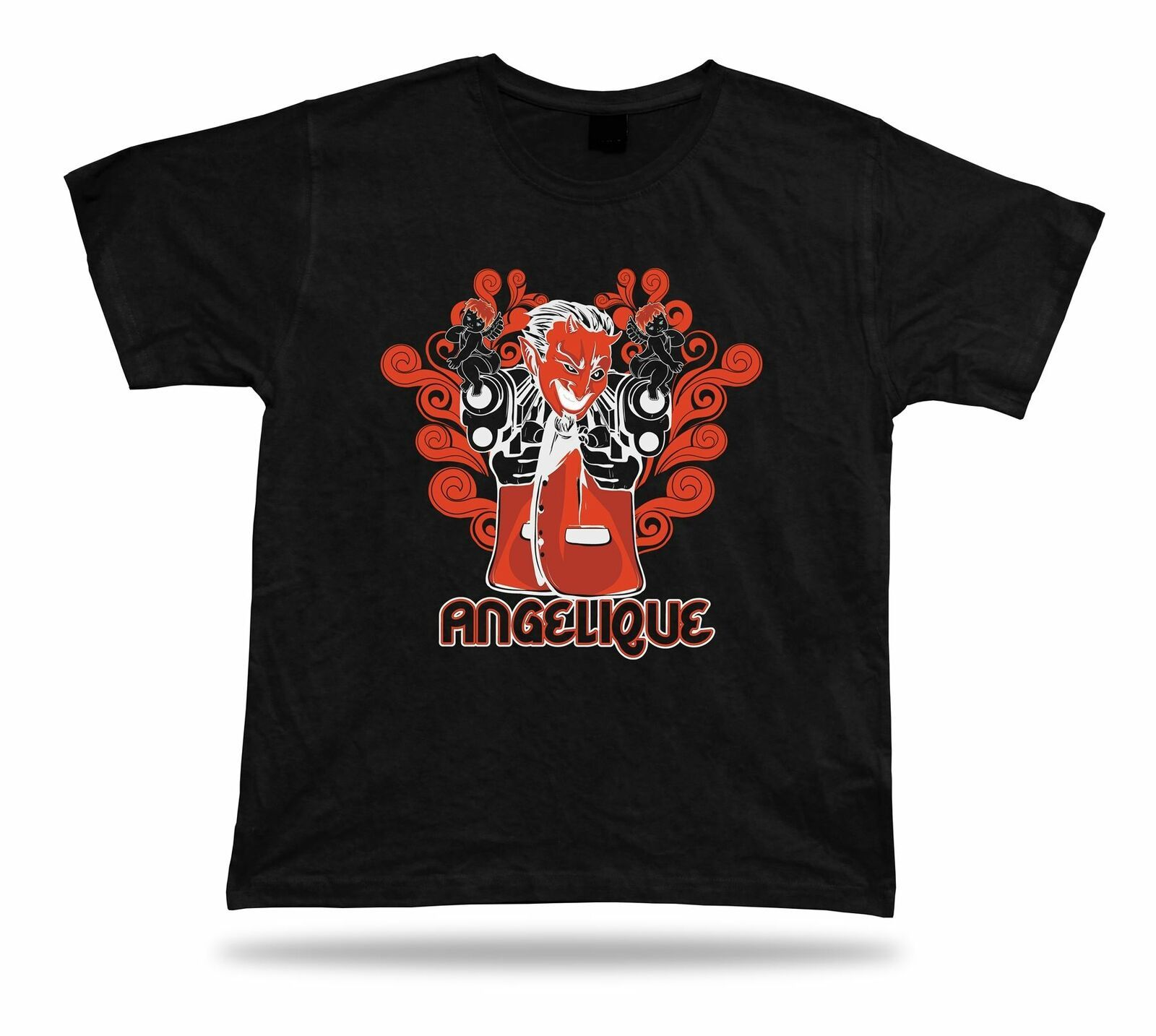 Primary image for Angelique Demon  Angel Floral awesome tshirt stylish design birthday present
