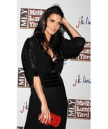 Max Azria ATELIER Dress Black GOWN celebrity collectible WORN BY Angie H... - $1,382.34