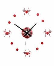 Panda Superstore Creative Design DIY Spider-Man Wall Clock [B] - $30.71