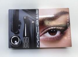 Mac' Aussehen in Box ' Augen Set Klassisch Schwarz Fluidline, Mascara, K... - $41.96
