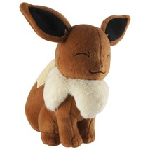 7.5 Inch Official Pokemon Smiling Eevee Plush with Tags - $29.95