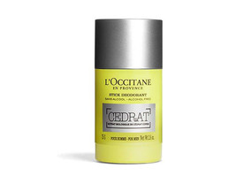 L'Occitane Cedrat Stick Deodorant For Men Prevents Body Odor Alcohol-Fre... - $41.00