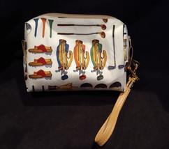 Clutch Bag/Wristlet/Makeup Bag - Golf