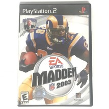 Madden NFL 2003 (Sony PlayStation 2, 2002) EA Sports Video Game EUC - $4.88