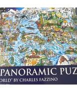 Ab Charles Fazzino Noi Are The World 1000 Pezzi Panoramico Puzzle Completo - $20.78