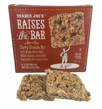 Trader Joe's Raises the Bar Gluten Free Chewy Granola Bars, 5 Count Box ... - $12.86