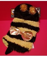 Pet Holiday Dog Clothes XS Bumble Bee Halloween Costume Canine Animal Ou... - $7.59