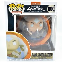 "Funko Pop Nickelodeon Avatar the Last Airbender Aang Avatar State 1000 6"" Figure"