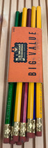 """Vintage lot of 9 Belmont  #2 Pencils """"sold only at"""" Rexall Drugs - $22.72"""