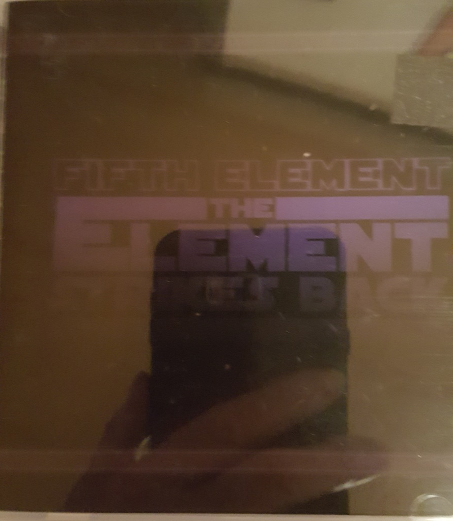 The Element Strikes Back - Fifth Element  Cd