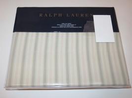 Ralph Lauren Francoise Dominique stripe king flat sheet - $66.45