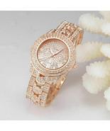 Luxury New Geneva Women Watch Stainless Steel Band Quartz Analog Wrist Watches - $12.99