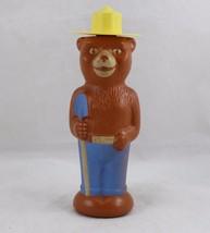 "Vintage Soaky Smokey the Bear Bubble Bath Bottle plastic toy figure 9"" C... - $19.99"