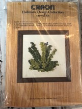 Caron FERNS Hallmark Design Collecton Vintage Crewel Kit Collectible - $9.50