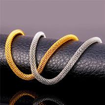 Necklaces, Mesh lace Cool 5MM 55CM / 66M 316L 18K Gold Plated - $19.99+