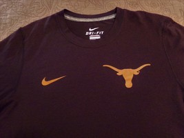 Texas Longhorns, Nike Dri-Fit, MINT/NEVER Worn, Small Men's T-Shirt - $9.95