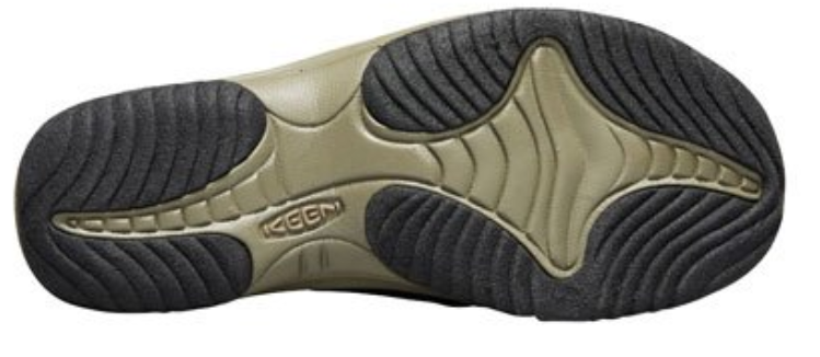 Keen Waimea H2 Sz US 9 M (D) EU 42 Men's Slip On Sandals Dark Earth / Jet Black