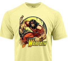 Warpath Dri Fit graphic Tshirt moisture wicking superhero comic book Sun Shirt image 1