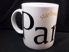 Starbucks coffee City Mug PARIS 2002 16 oz Made in England - $22.74