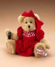 "Boyds Bears ""CHERYL"" 10"" Coca Cola® Plush Bear-919942 - NWT- 2006-Retired - $39.99"