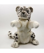 Snow Leopard Hand Puppet by Hansa True to Life Soft Plush Animal Learnin... - $56.99