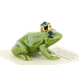 Birthstone Frog Prince May Simulated Emerald Miniatures by Hagen-Renaker image 5