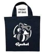 Raccoon Trick or Treat Bag, Raccoon Halloween Bag, Raccoon Loot Bag, Rac... - $11.39+