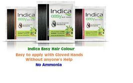 Indica Easy Herbal Hair Color Cream Natural Black, Brown & Burgundy Henna - $5.45+