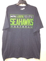 NWT NFL Men's Seattle Seahawks Football short SLEEVES T-Shirt fan Gray *XL - $17.99
