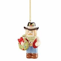 Lenox 2020 Cowboy Nutcracker Ornament, 0.45 LB, Multi - $33.61