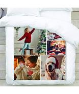 Monogram Online Personalized Products Custom Photo Large Blanket with Yo... - $32.99