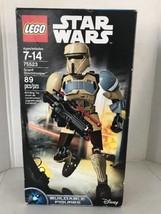 Lego Star Wars 75523 Scarif Stormtrooper Buildable Figure 89pcs New Seal... - $22.46