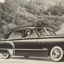 1949 Buick Print Ad Buick Alone Has All These Features  - $13.49