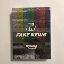Fake News Board Game From Breaking Games - Just The News You Want To Hea... - $12.99