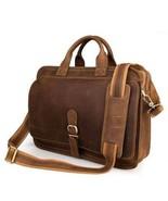Sale, Men's Handmade Leather Briefcase, Messenger Bag, Laptop Bag, Men's... - $160.00