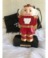 Timmy Woods Nutcracker Handbag Purse Display Stand Dust Bag Red Retired - $287.09