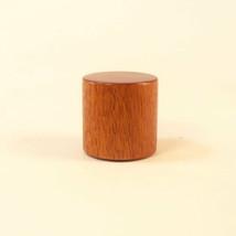 Lamp Shade Finial Mahogany Wood Drum Pattern 9 Table Lamp Finials - €15,69 EUR